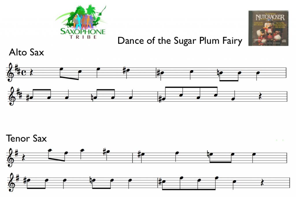 sugar_plum_fairy_alto_tenor_saxophone_tribe